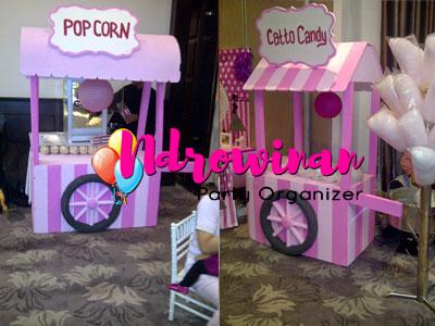 booth styrofoam dekorasi