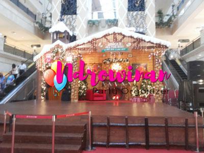 dekorarsi styrofoam di mall jakarta