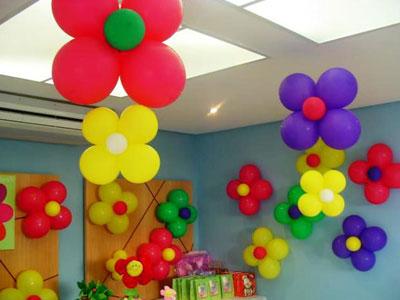 dekorasi balon bunga