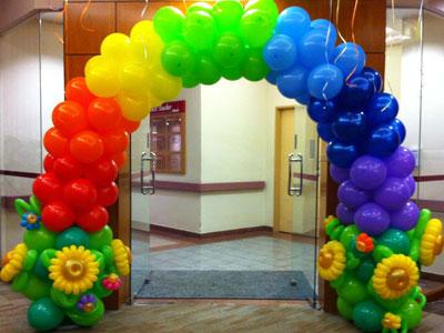 dekorasi balon gate kantor
