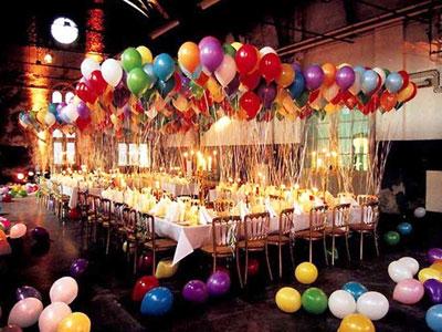 dekorasi balon helium ulang tahun