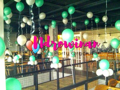 dekorasi balon helium