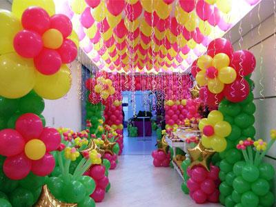 dekorasi balon ultah anak