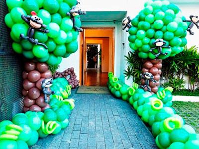 dekorasi balon ultah dirumah