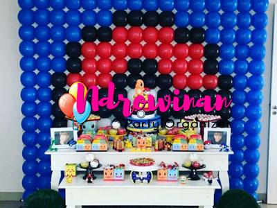 dekorasi dessert balon dekorasi ulang tahun anak