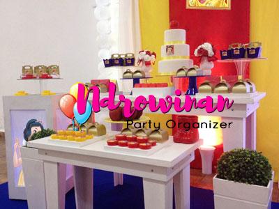 dekorasi dessert table ulang tahun anak
