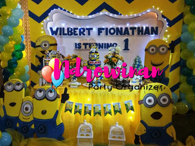 Dessert Table Minion Ultah Anak