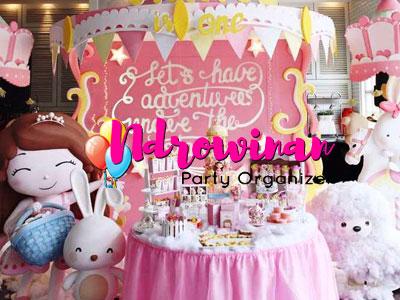 dessert table murah ulang tahun anak perempuan