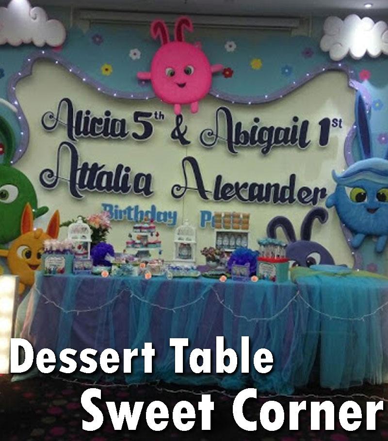 dessert table sweet corner ulang tahun anak