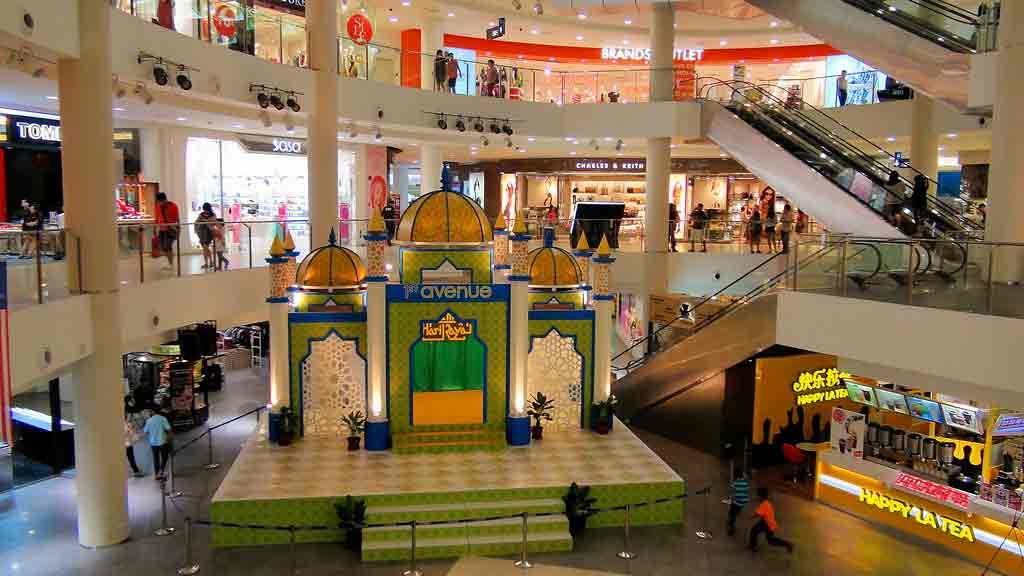dekorasi mall ramadhan lebaran iedul fitri
