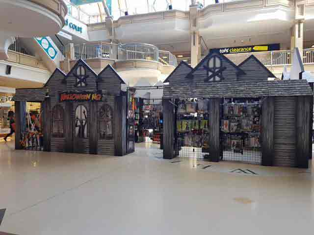 Dekorasi Mall Tema Halloween